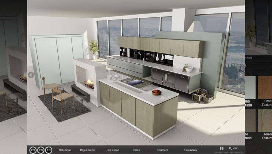 Configura una cocina a tu medida con gamadecor - Configurador cocinas ikea ...