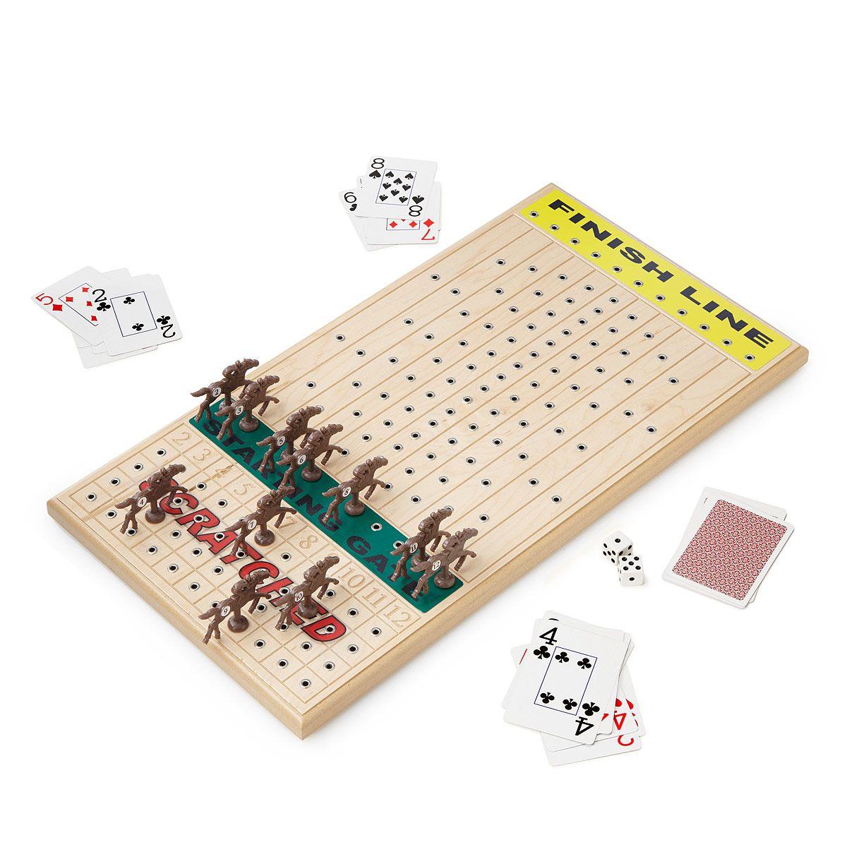 games board horse