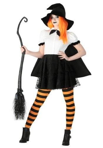 punky-witch-plus-size-costume Halloween Costume Ideas (Various - halloween costume ideas plus size