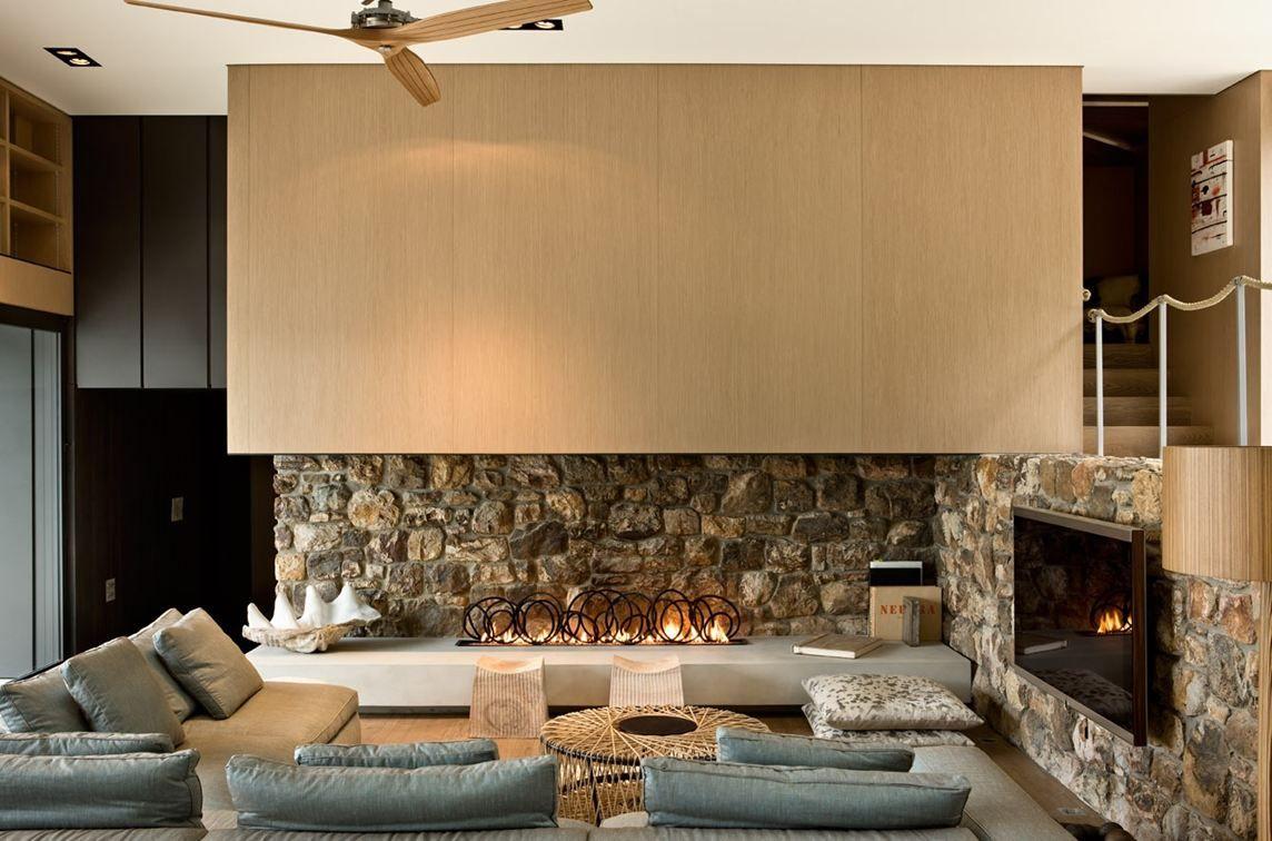 decorations interior pleasant stone fireplace design ideas