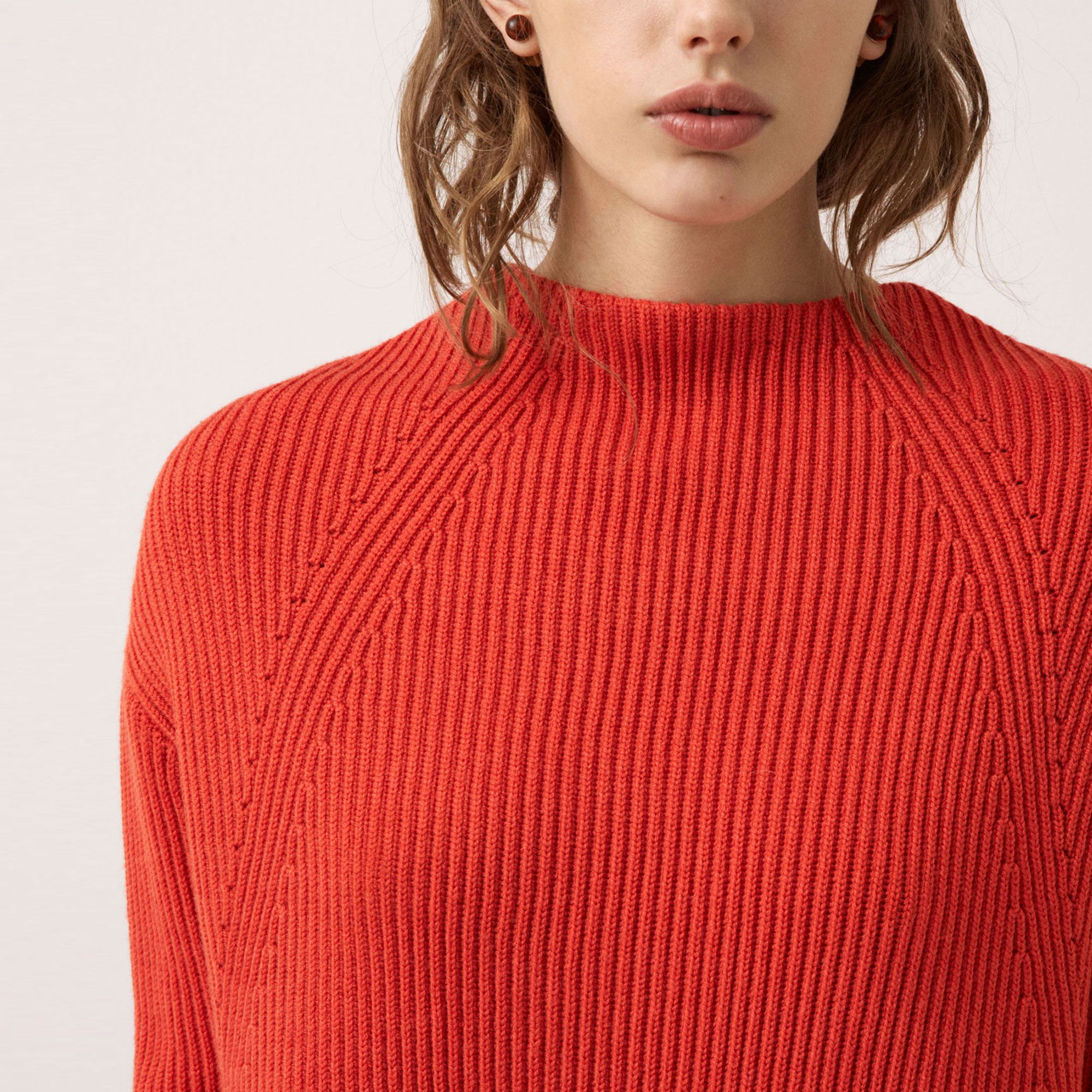 FWSS Getting Nowhere is a chunky sweater knitted from a ...