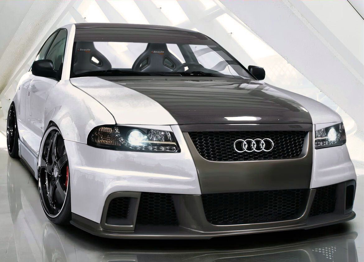 Hopefully Someday Mike S Audi A4 Will Turn Out Like This After His Upgrades B5 Rs Style Body Kit Audi A4 Body Kit Audi A4 Quattro