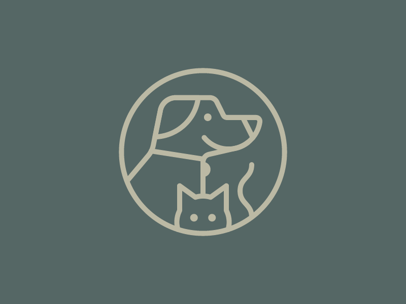 Humane Society Serving Clark County Pet Logo Design Dog Logo