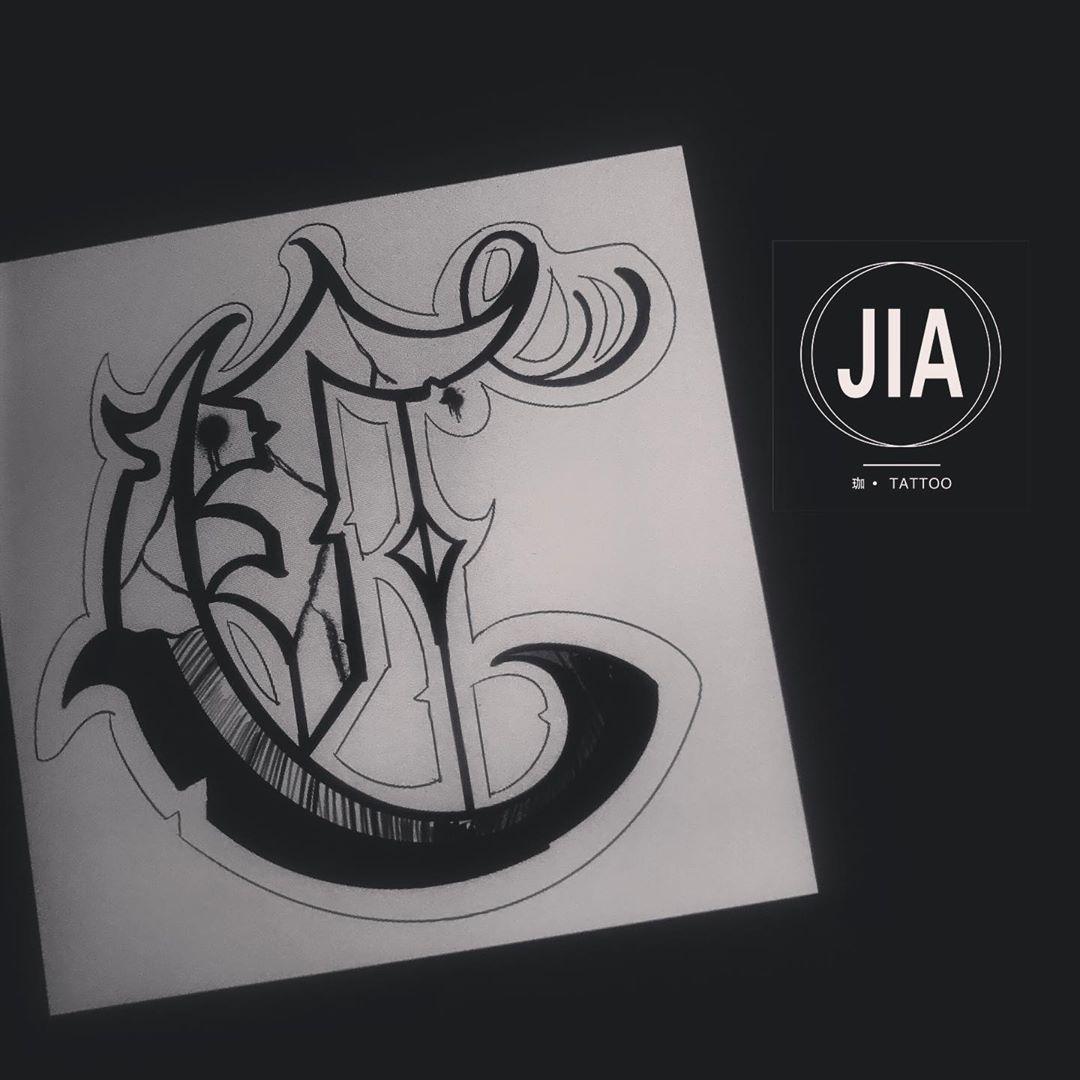 c d ✍️#scripttattoo #script #lettering #lettering #tattoo #tattoos #tattooideas #blacktattoo #chicano #chicanotattoo #tattooist #tattoo2me #sketchtattoo #chinatattoo #wuhan #wuhantattoo #tattooart