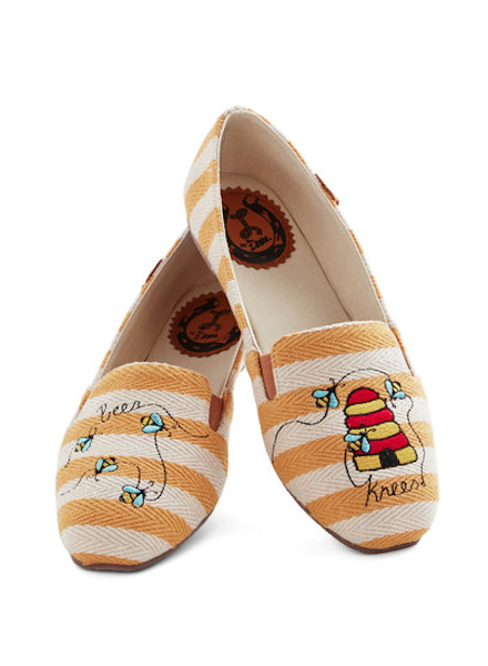 453df13b8777 Winnie the Pooh-Inspired Accessories! These shoes are so cute!! I kinds  want them!