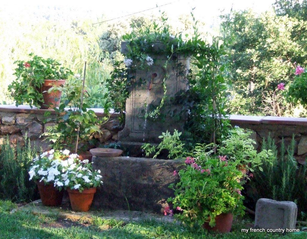 Summertimelivingeasymyfrenchcountryhome garden u co