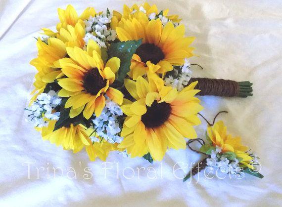 Custom made to order bouquet silk flower hand tied bridal large custom made to order bouquet silk flower hand tied bridal mightylinksfo