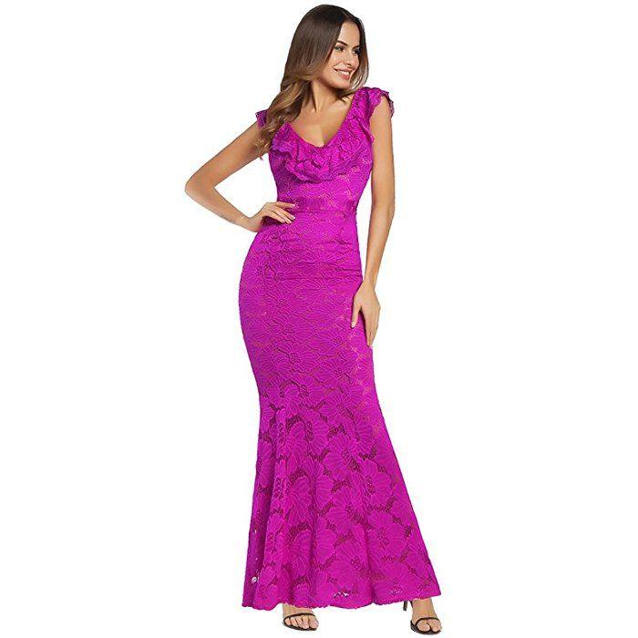 Mermaid style dress uk