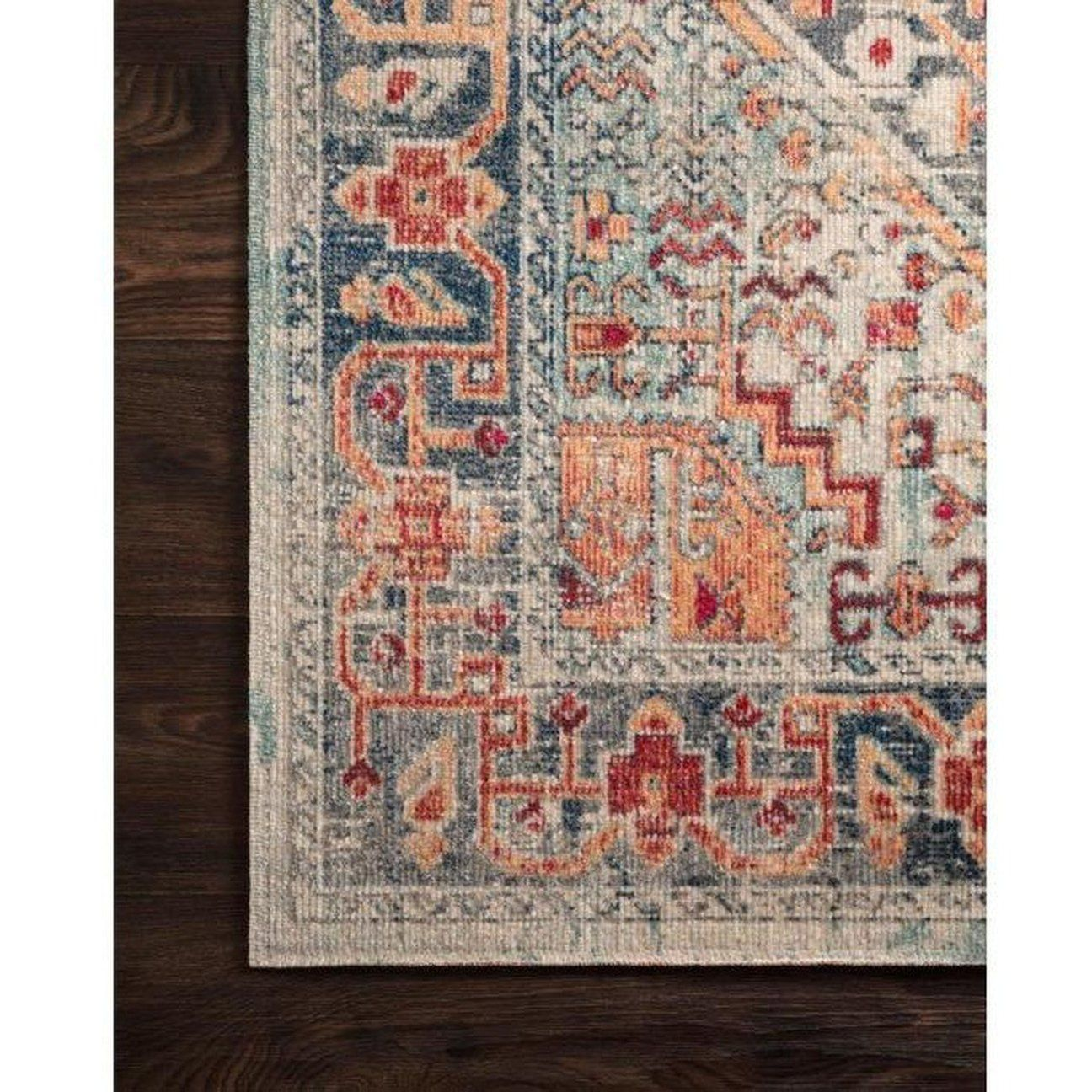 Blue And Fiesta Nour Rug Multicolored Rugs Area Rugs Rugs