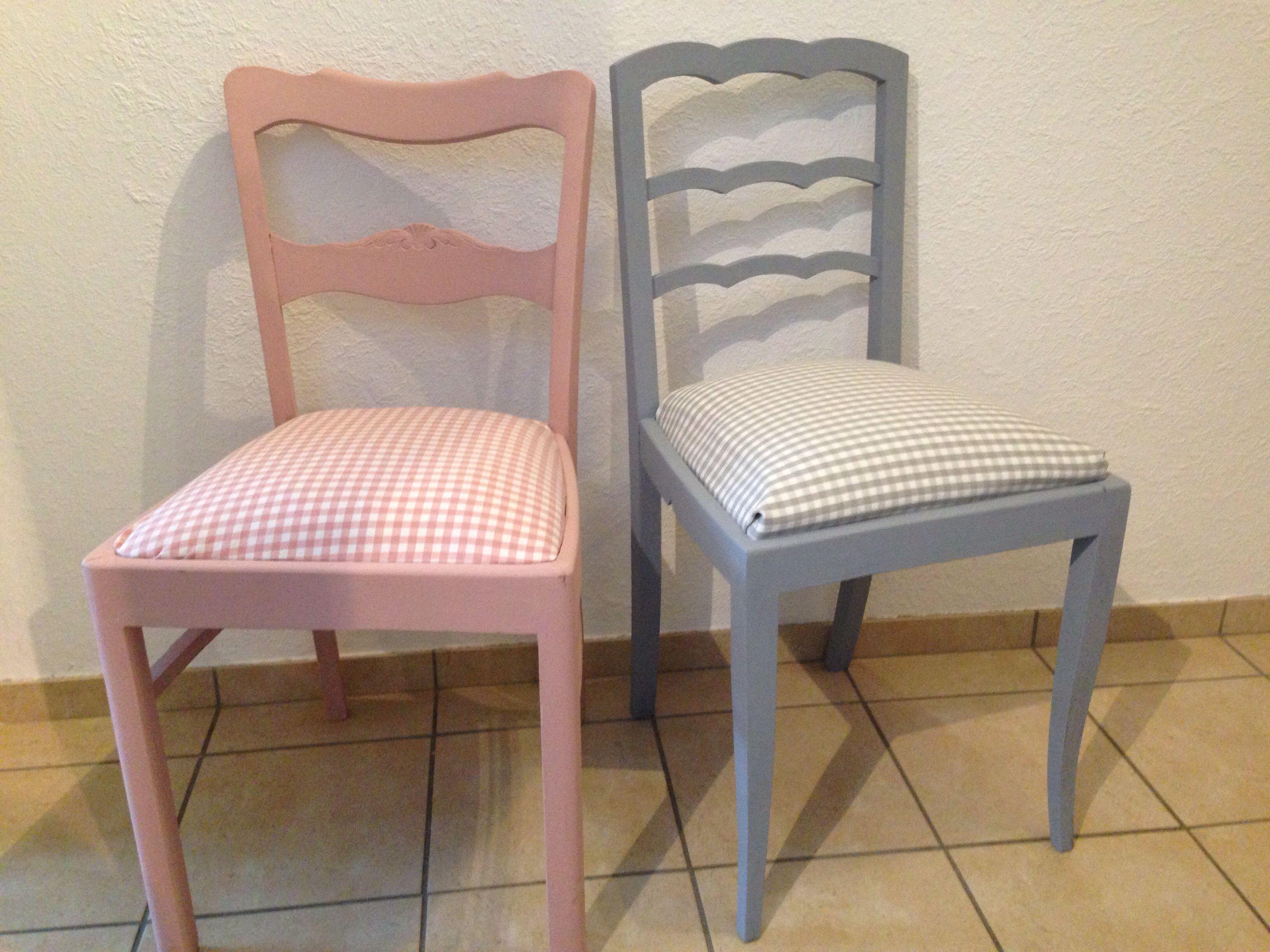 Restaurierte Antike Stühle shabby Chic stück 40
