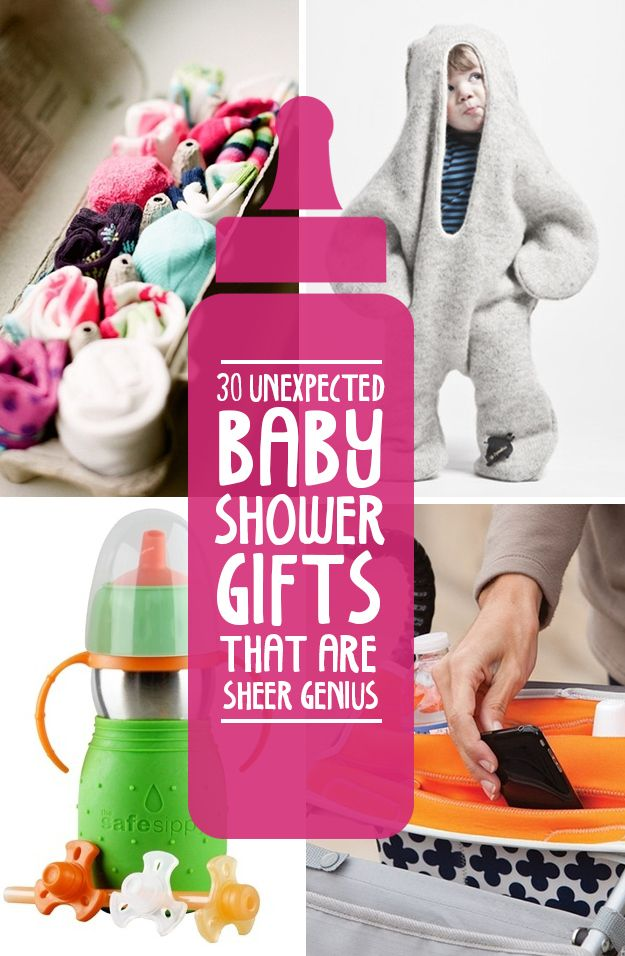unexpected baby shower gifts that are sheer genius  ciąża, Baby shower
