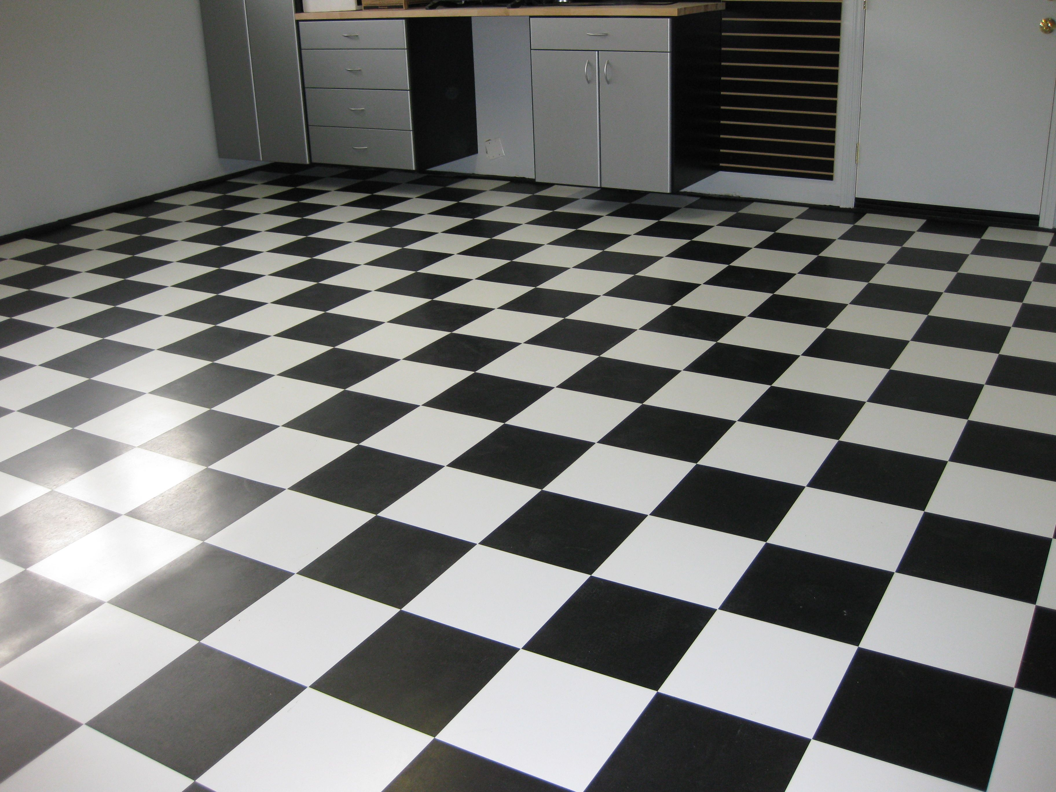 Someday I will have a floor like this  probably kitchen D White Tile Mi