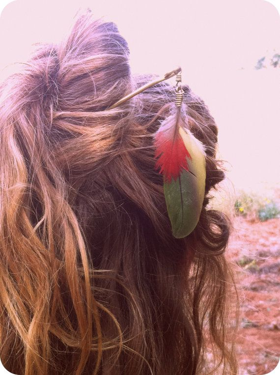 Bohemian Hair Stick Hair Accessories Gypsy Festival  by CuraWay