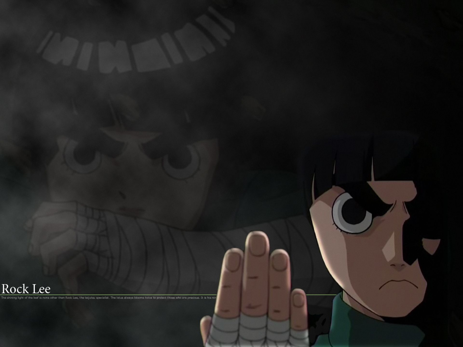 Anime Naruto Rock Lee Wallpaper