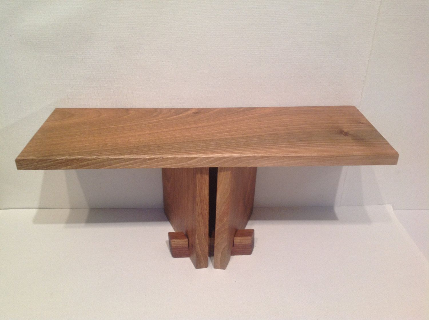 meditation bench stool collapsable portable wood - maple and