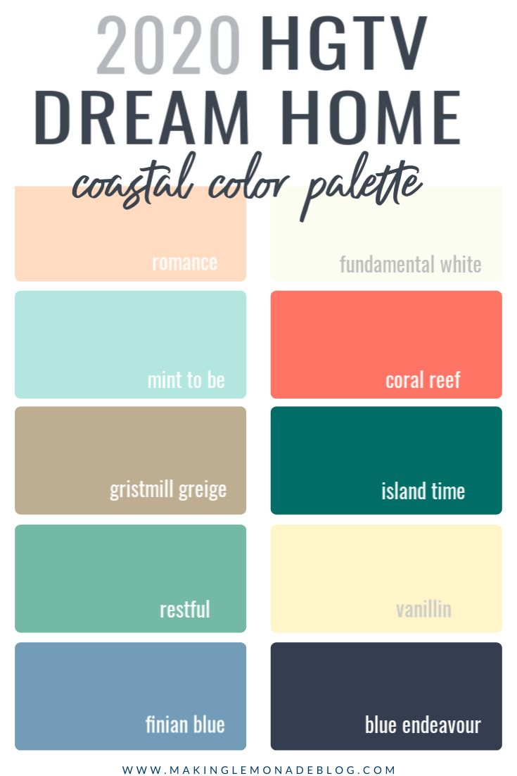 insider s guide to the 2020 hgtv dream home paint colors on decorator paint colors id=60907