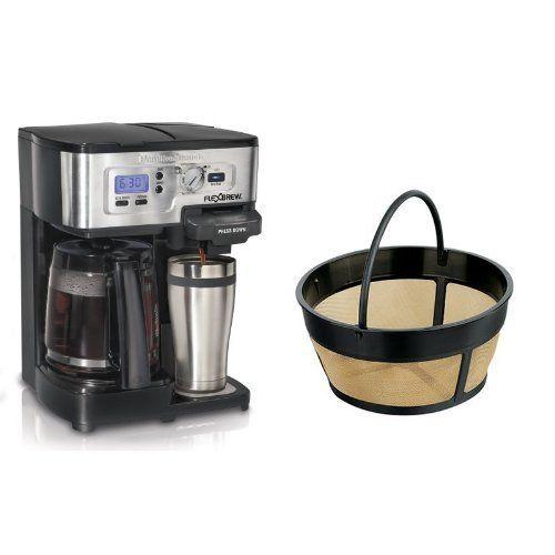 Hamilton Beach Flexbrew Single Serve Full Pot Coffee Maker And