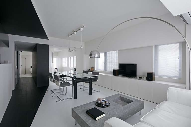 Arredare Casa In Bianco E Nero Design Appartamenti Interni