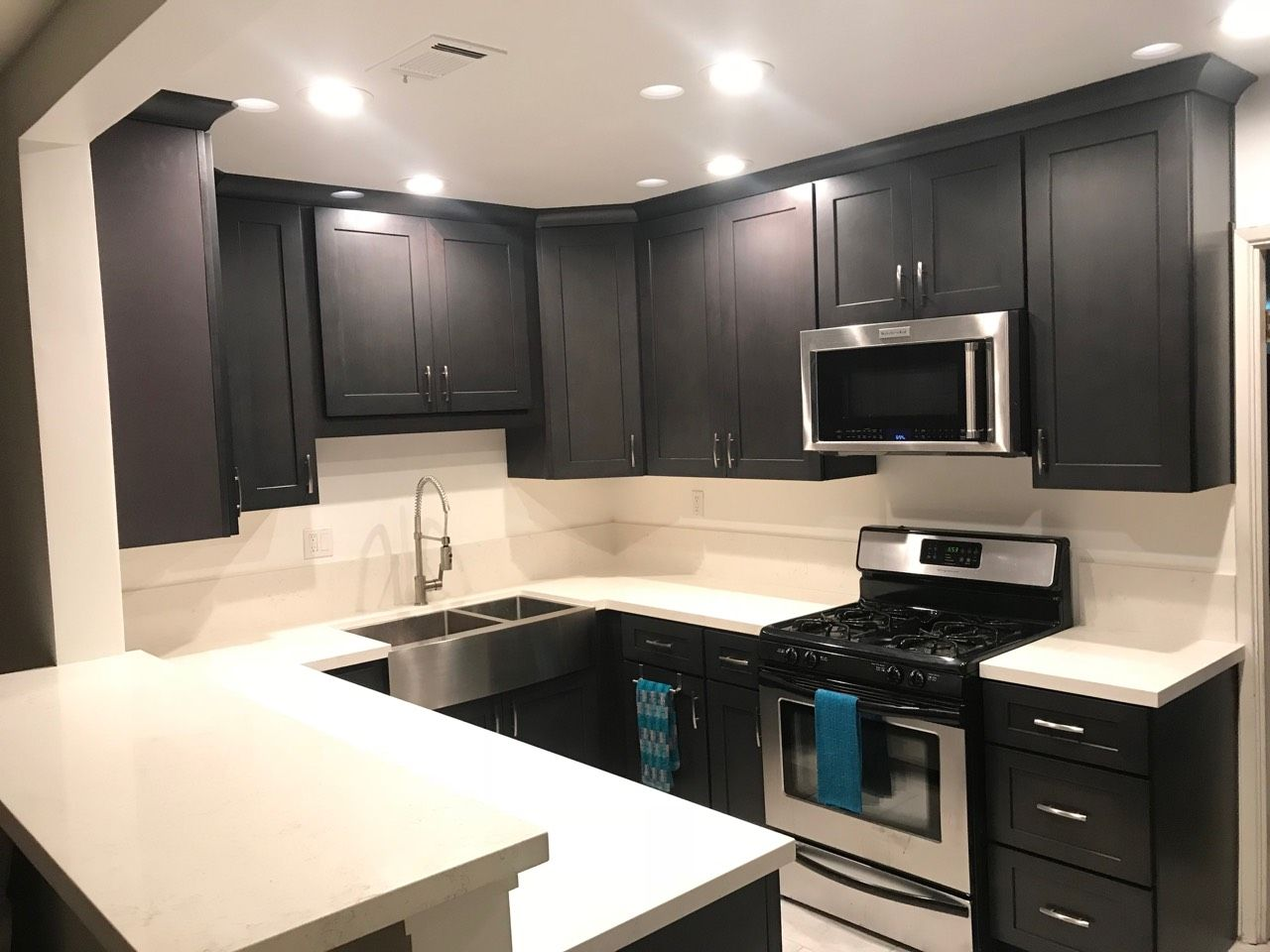 Best Pin By Lesso Kitchen And Bath On Ash Grey Shaker Cabinet 400 x 300
