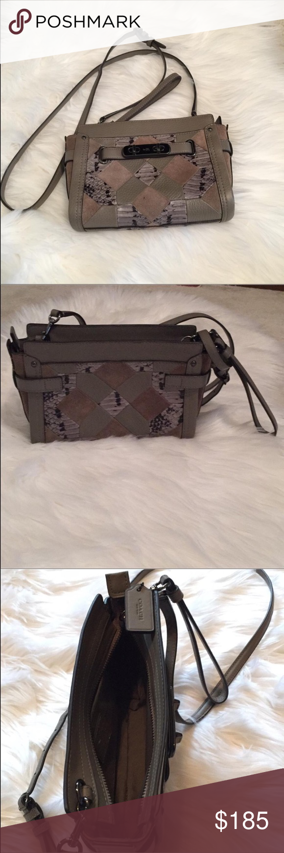 9a93c568a38 🎉NWOT COACH SWAGGER WRISTLET CROSS BODY BAG 🎉 🌺NWOT. NEVER USED Coach
