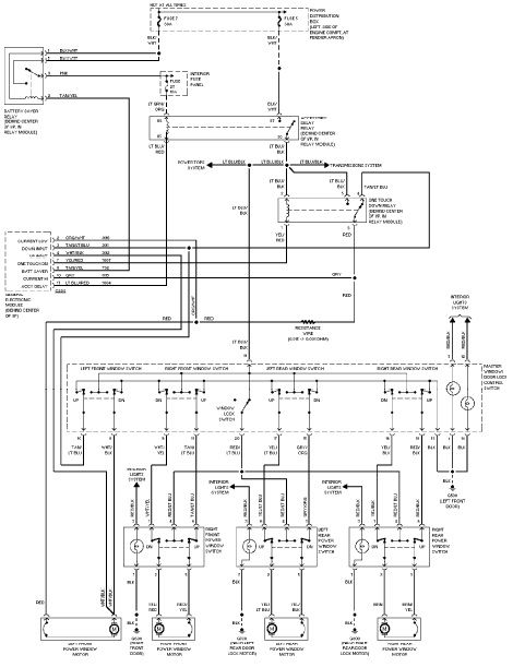 2002 ford escape electrical diagram