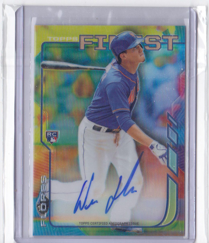 Flores RC Autograph. | Sports Card Randoms | Pinterest