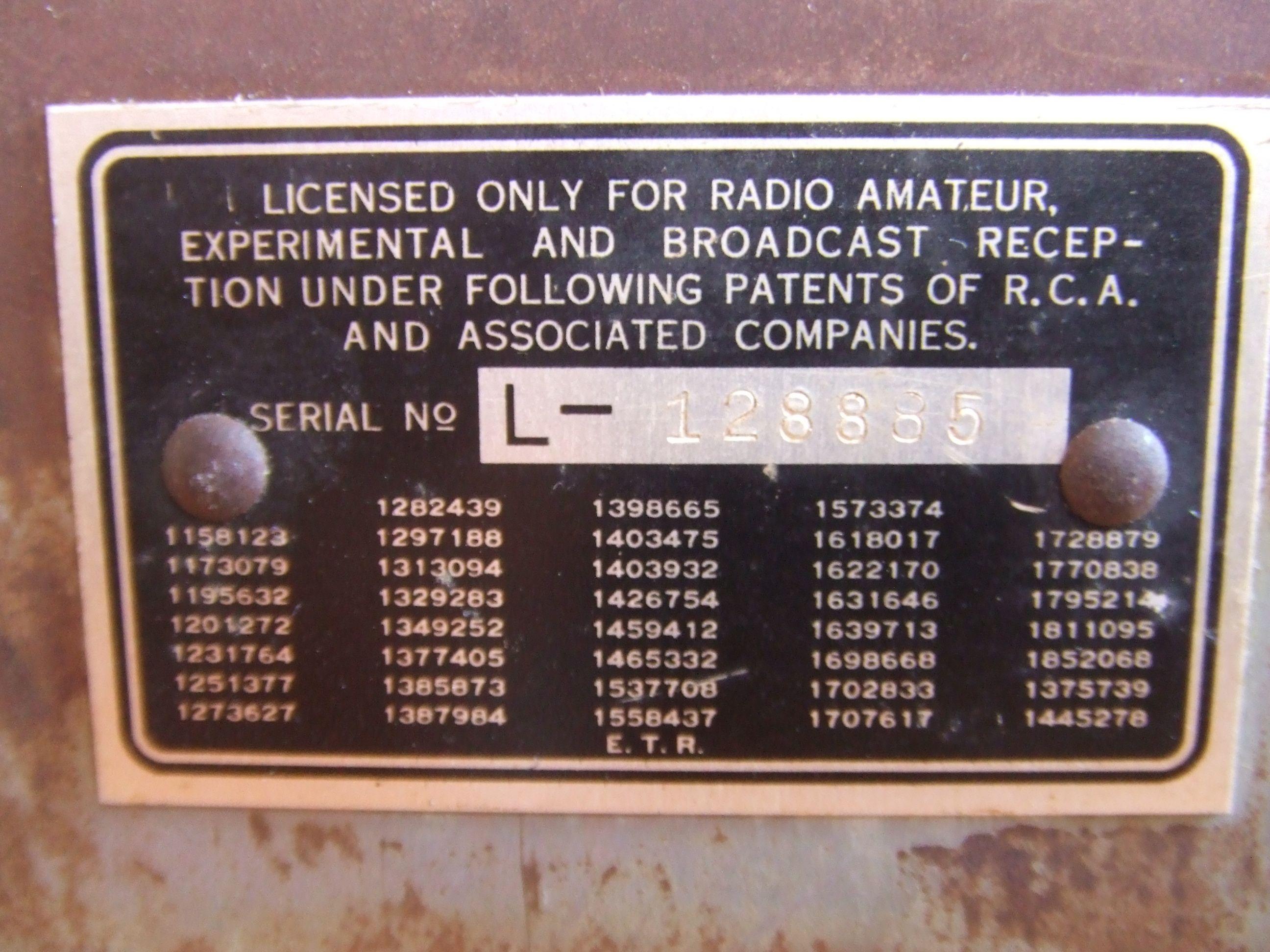 Emerson M 755 1931 Antique Radio Tube Radio Radio Antigua