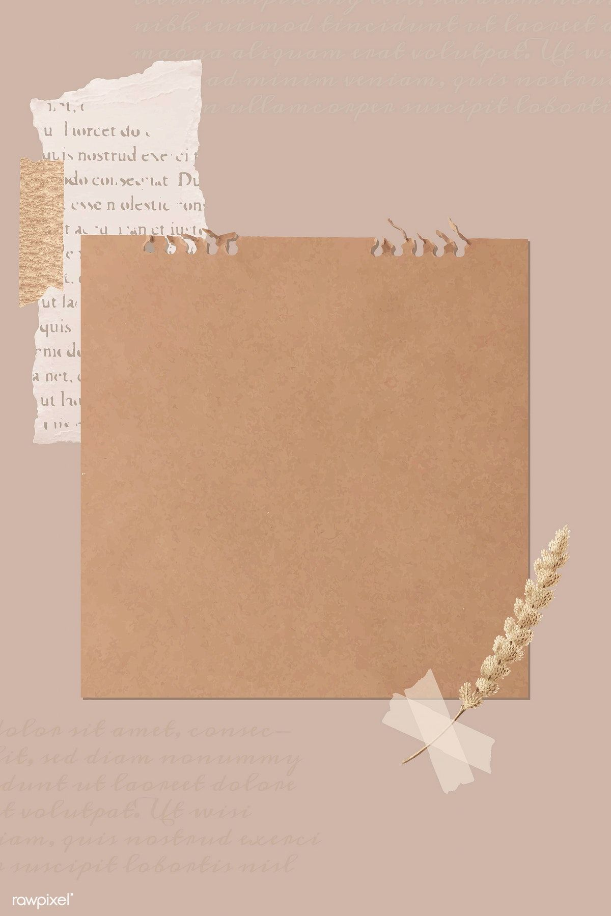 Pastel Aesthetic Background Template