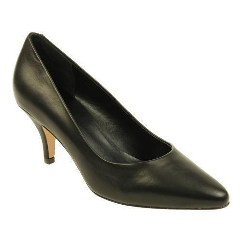 Womens Shoes Vaneli Hadera Black Kidskin