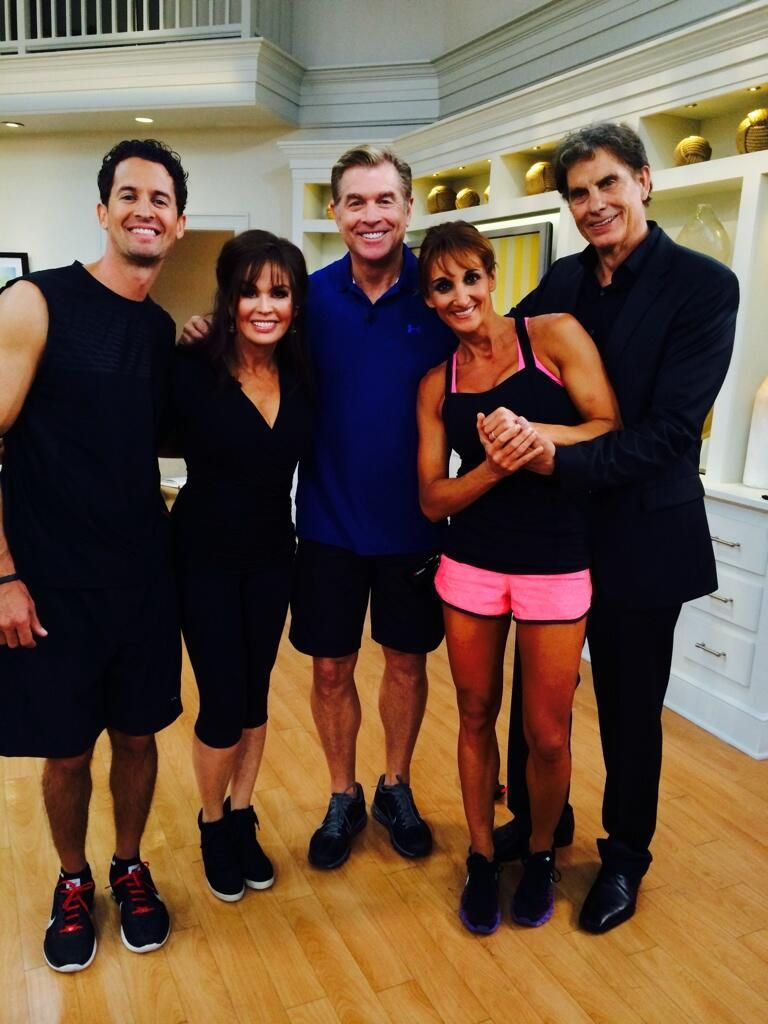 Marie steve at qvc bodygym osmonds osmond family donny