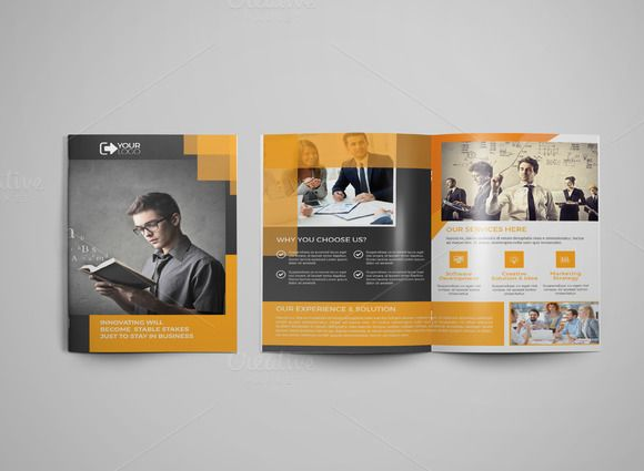 Bi Fold Corporate Brochure  Corporate Brochure And Brochures