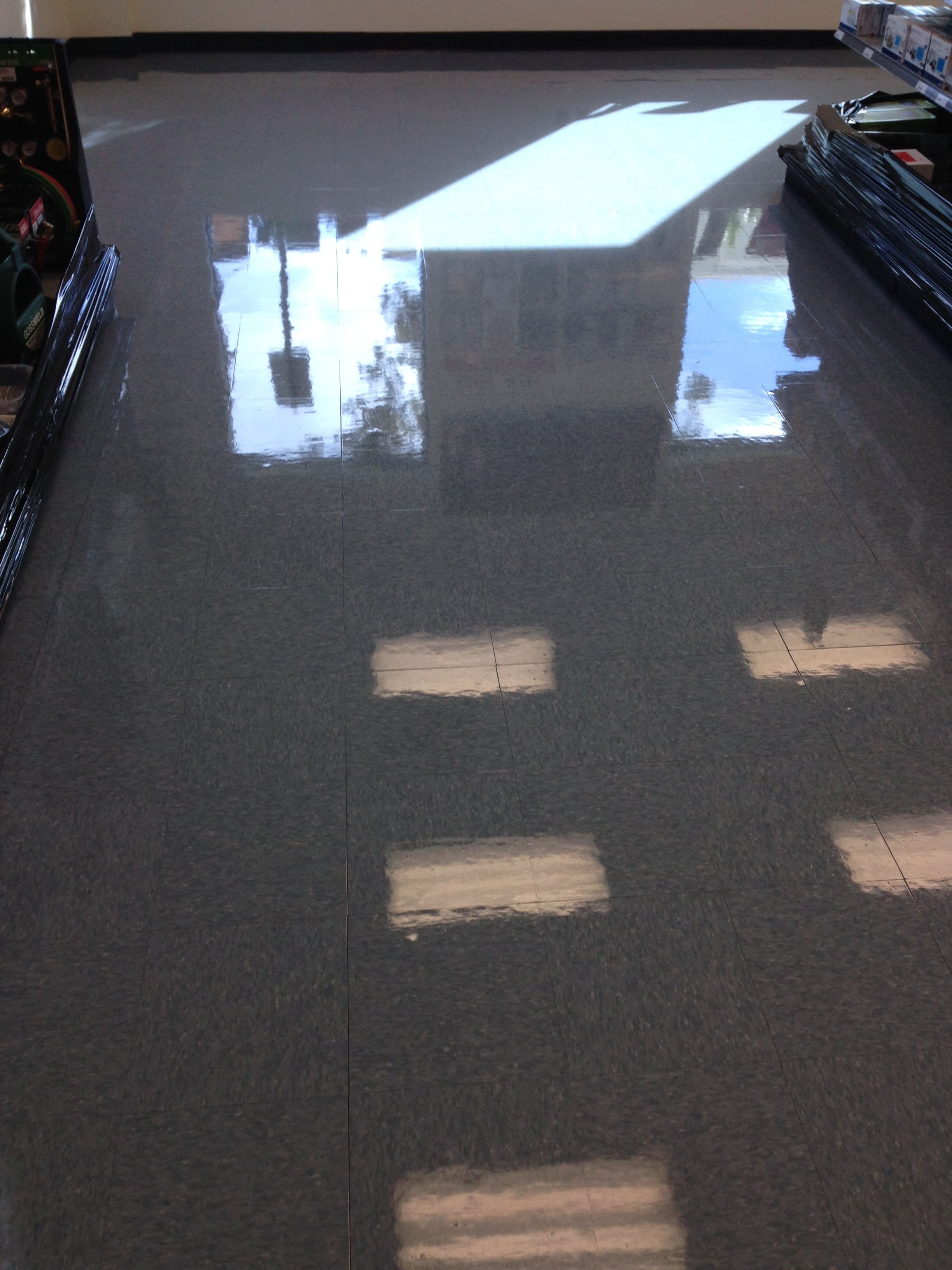 OctoClean Floor by Francisco Chavez at a local distribution center