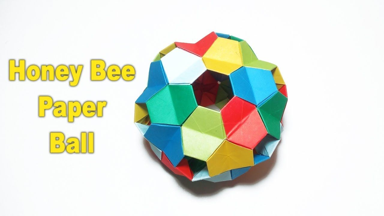 Paper ball – How to make a origami kusudama flower ball – diy home decor...  | Origami modular, Origami, Modulares | 720x1280