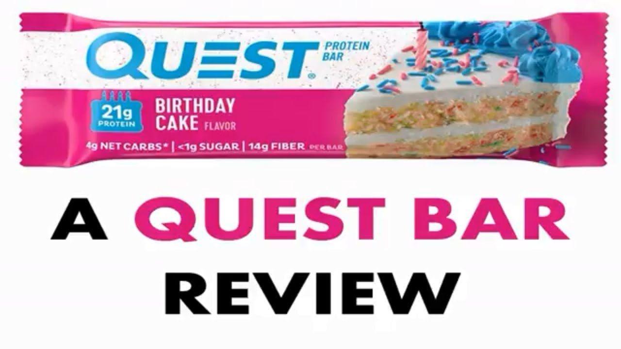 Full birthday cake flavor quest bar review birthday cake