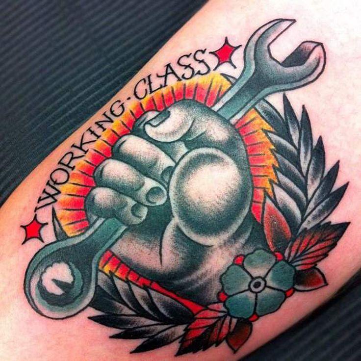 Populaire tattoo old school della working class - Cerca con Google | old  XY94