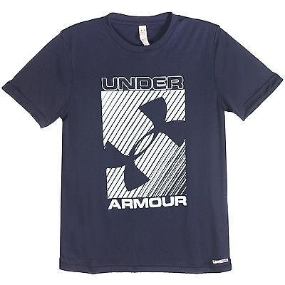 383d9d20cf77 Under Armour UA Sun Slasher Tee Mens 1286425-002 Blue Graphic T-Shirt Size  XL