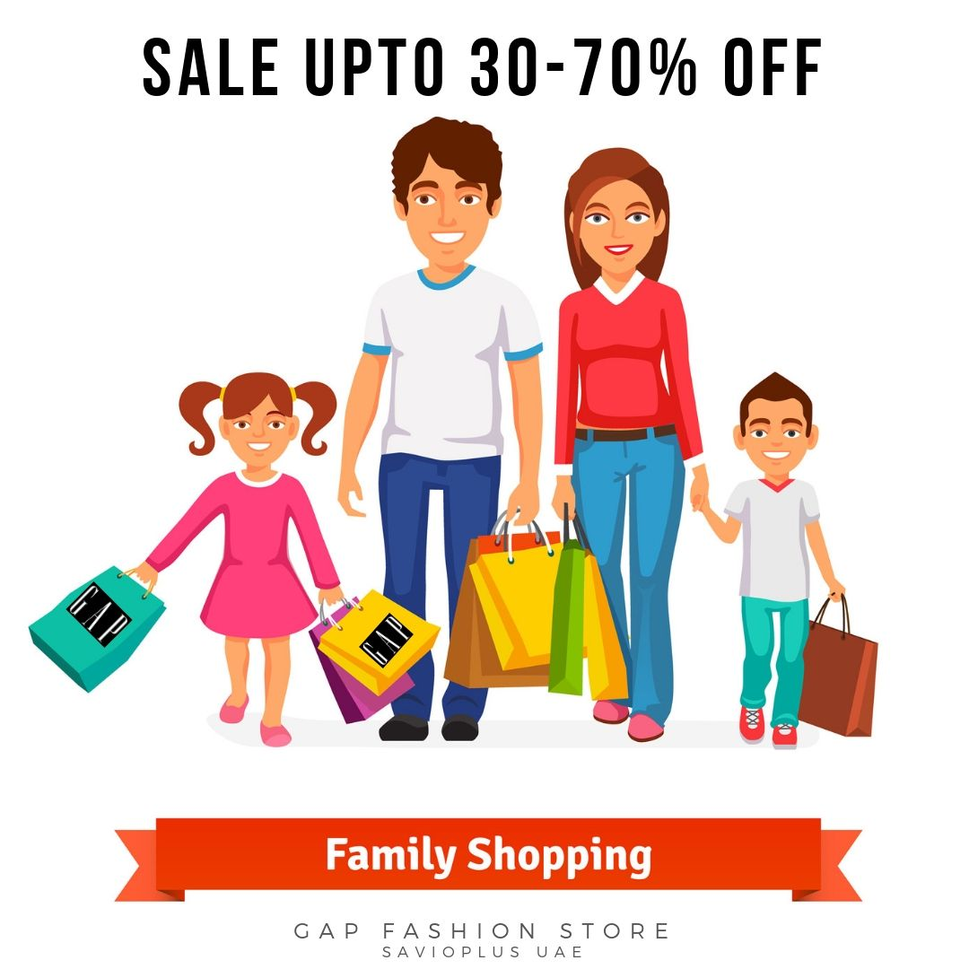 549ee294bea5e Sale Upto 30-70% OFF Family Shopping via Gap Fashion Store Gap ...