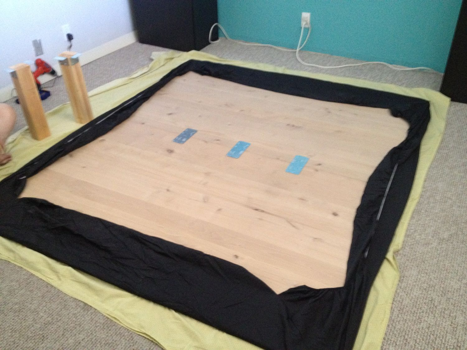 Finally A Cal King Bed Frame With E For Dog Kennels Ikea Hackers