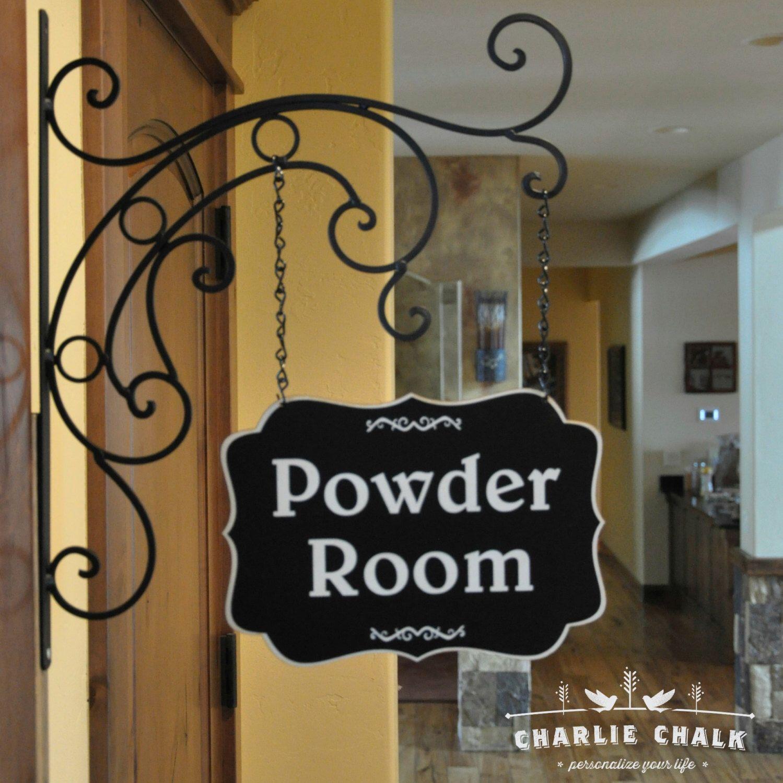 Metal Laundry Room Signs Powder Room Signlaundry Room Signbirthday Gift For Herlaundry