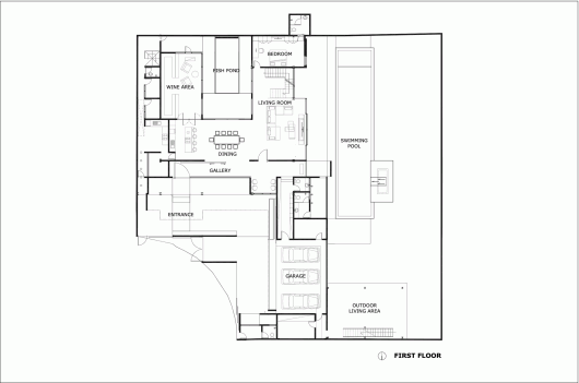 Rumah Bidang Jakarta Raul Renanda Design Design Floor Plans How To Plan
