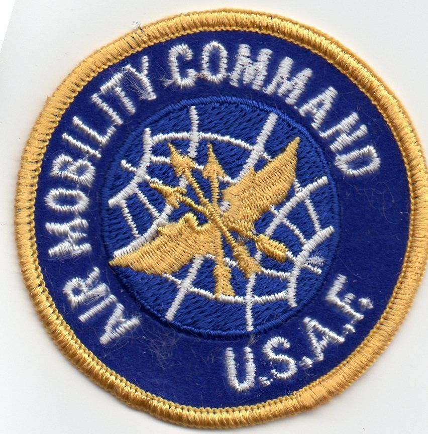 AIR MOBILITY COMMAND USAF PATCH