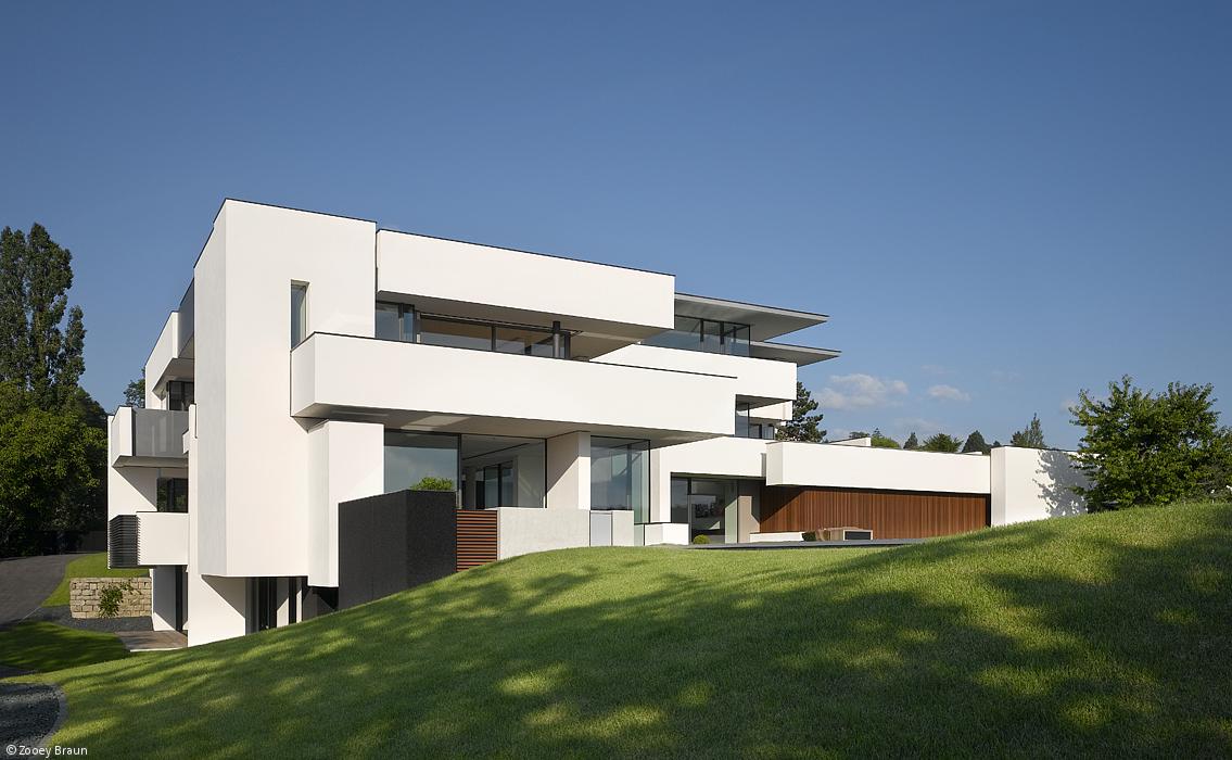 EINE VILLA FÜRS LEBEN - Stuttgart: CUBE Magazin   My next house ...