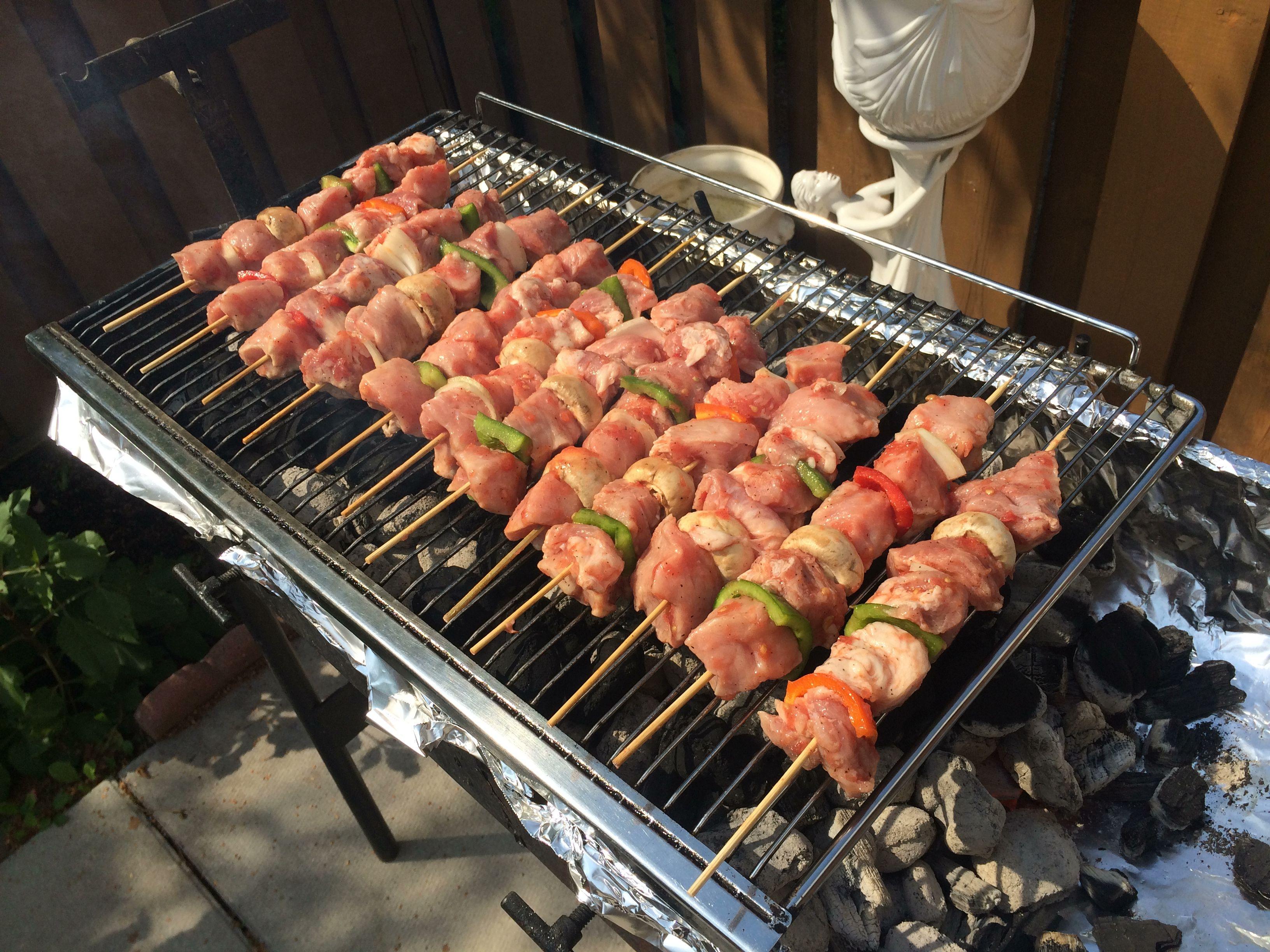 Pork Souvlaki! #eatwithyoureyes