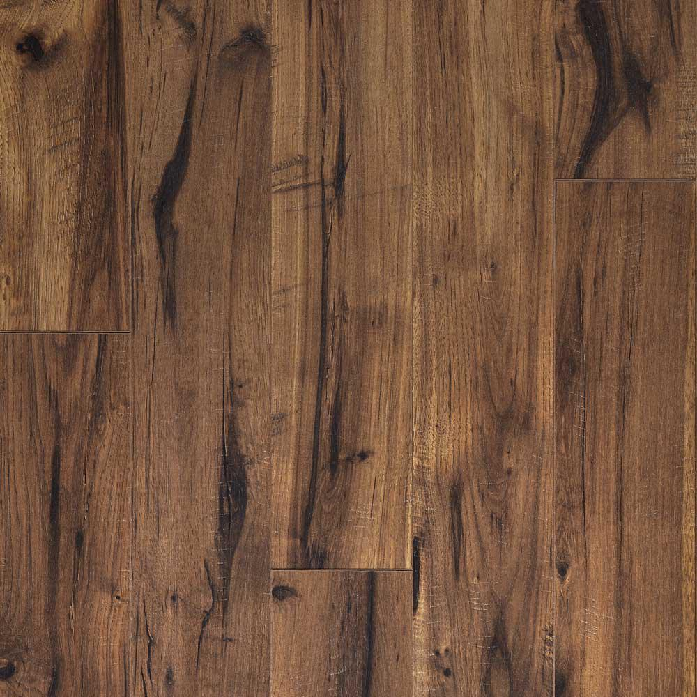 Laminate Flooring Reviews Pergo Xp: Pergo XP Creekbed Hickory 8 Mm Thick X 5-7/32 In. Wide X