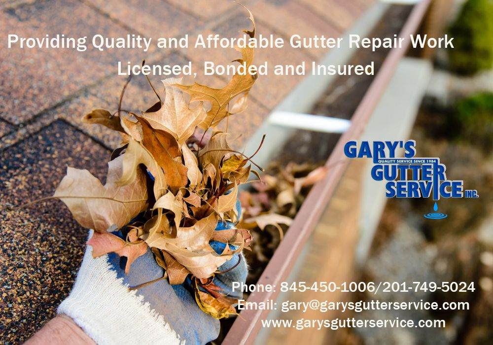 Providing Quality And Affordable Gutter Repair Work