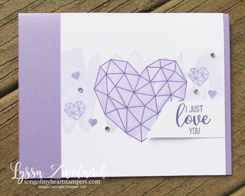 Purple Lovers Party Projects Party Projects Ink Pads Modern Heart