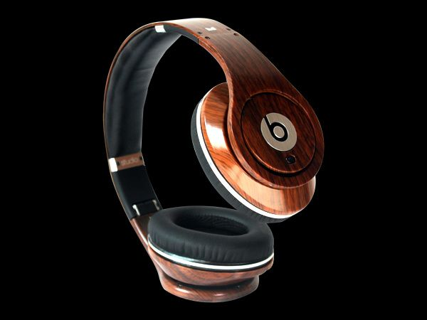 headphone Authentic Beats By Dr Dre Studio Wood Carving