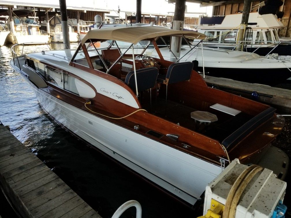 1959 32 Express Cruiser Chris Craft Boats Vintage Boats Classic Boats