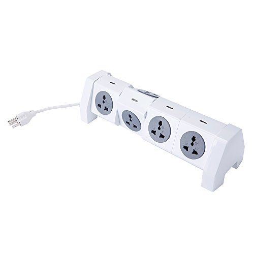 Electric Power Strip 2500w 57 Outlet Plugs With 2 Usb Slot 65ft Cord Wire Extension Surge Protector Universal S Power Strip Surge Protector Charging Station