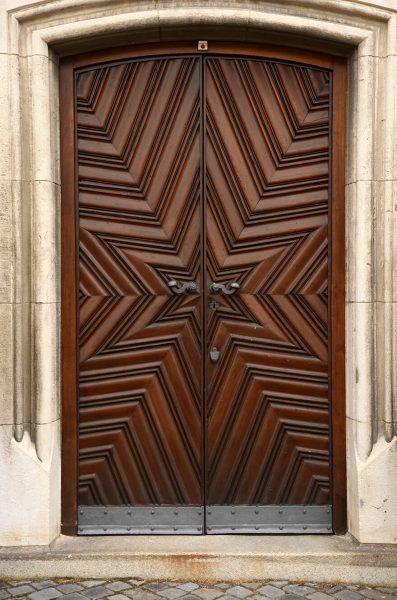 Hand-Crafted Wood Door EH2053 – Monarch Custom Doors